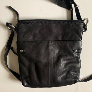Dolce Vita Leather Crossbody Bag
